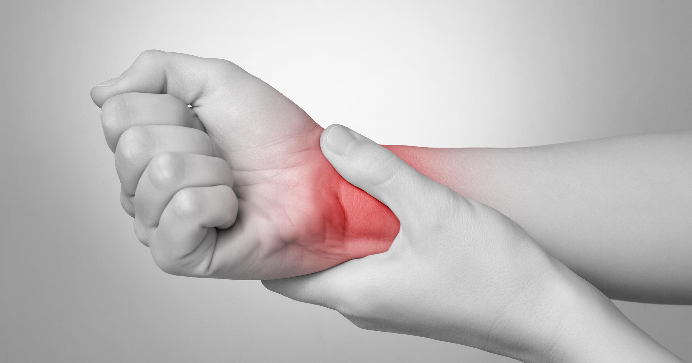Smertesyndrom (CRPS) etter håndleddsbrudd