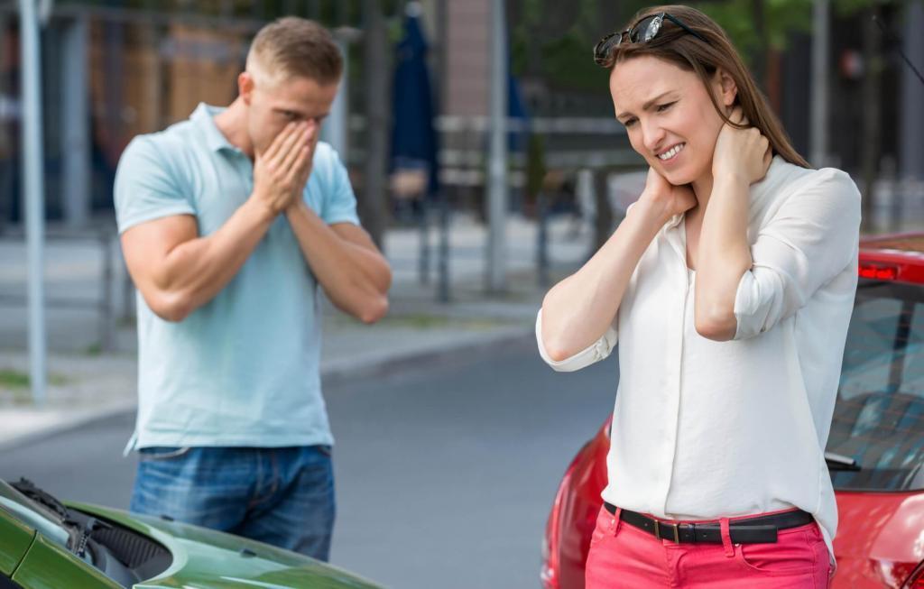 Whiplash / nakkesleng. Kontakt erfaren advokat snarest etter ulykke.
