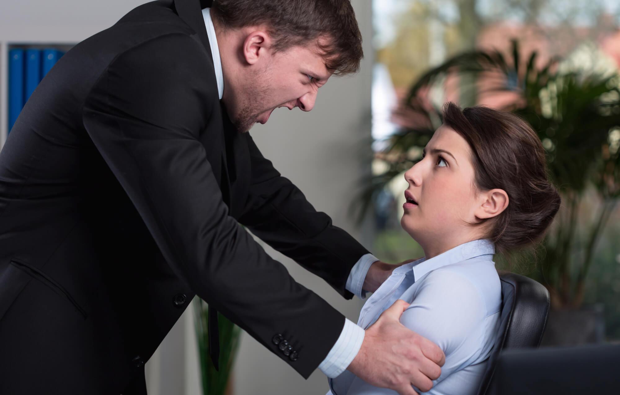 Vold på jobben? Kontakt advokat.